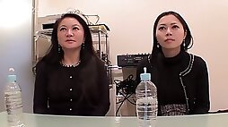 Yui yabuki and chiharu yabuki mother daughter