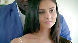 Ariana Marie and Adria Rae have first interracial threesome