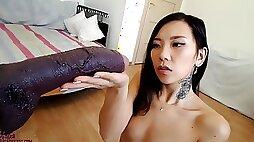 Asiandreamx Bbc Pov Hq Side Views Facial