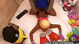 Please Stop ! This Sex Hurts. Msnovember Pushed Face Down Ass Up Into Couch And Painfull Fucked By Her StepDad Dominating Her Arching Back Penetrating Her Black Pussy Sheisnovember