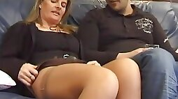Mature French Whore Is Gonna Show Her Pussy To Younger Lover