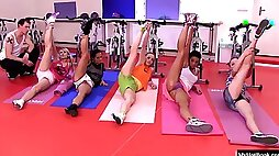 Team sports are all about making sure each girl gets the same training