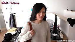 AdultAudition Chinese Lilly My First Hard Fuck