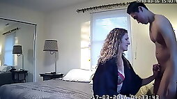 Husband surprises wife shared with young guy ipcam