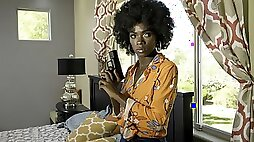 Sporty African princess Ana Foxxx screwed by a long dick