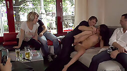 Hairy babe ass whipped in Berlin