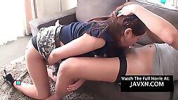 Asian teen gets fucked and humiliated hd. jav