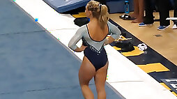 Mind blowing fit gymnasts