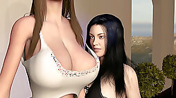 Girl on girl with large tit Teens Growing Tall Breast Expansion and Height Compariso