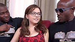 Anal Whore Marina Visconti Gets DPd by Black monster Cocks