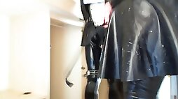 Rubber maid is put in the naughty cupboard