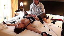 Amazing Japanese whore in Exotic MILF Wife JAV clip