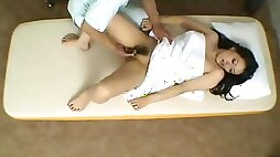 Invasive massage and fuck each other with girl