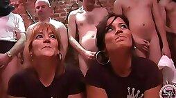 Delia rosa and jazmina vulcan real spanish mother daughter bukake