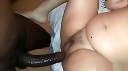Cuckslut hotwife fucking with a BBC