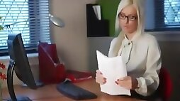 British blonde teen slut showgirl in burlesque Costume feather hat and gloves!