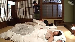 Young and old Japanese gus swapped each others GFs to fuck