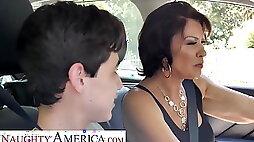 Naughty America Mrs. Fuller Vanessa Videl teaches Juan how