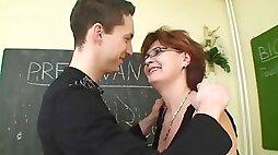 Ajx mom teacher lesson son