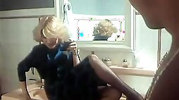 Wet Thick Dick Oozes In Greedy Mouth Of Slutty Blonde