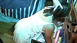 Micky Marks spycam of gloryhole session in my adult cinema sex theater