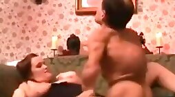 Wife fuck session with midget..........