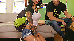 Vyxen Steel in Couch Surfing PegasProductions